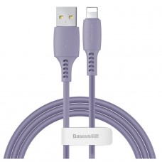 Baseus kabel Colourful USB - Lightning 1,2 m 2,4A fioletowy