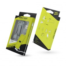 Kabel stand micro-USB szary