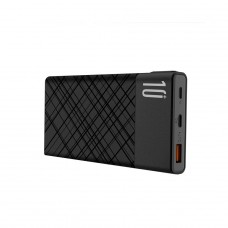 XO Power bank PR110 10000mAh QC PD czarny