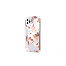 Guess iPhone 11 Pro Max GUHCN65IMLFL02 liliowy hard case Flower Collection