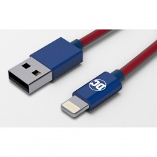 TRIBE DC Movie Kabel lightning Mfi 120 cm Superman CLR23301 TTT